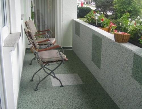 Sprachlos – bitte Bilder des sanierten Balkons beachten