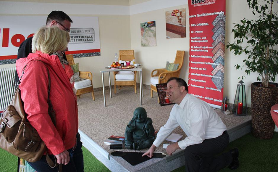 RENOfloor Ausstellung Schwetzingen